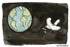 earth and a dove